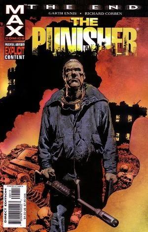 Okładka książki The Punisher: The End