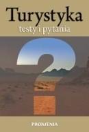Okładka książki Testy i pytania dla kandydatów na pilotów wycieczek