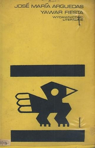 Okładka książki Yawar fiesta