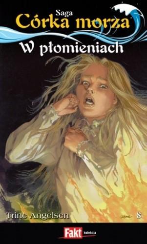 Okładka książki W płomieniach