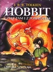 Okładka książki Hobbit czyli tam i z powrotem