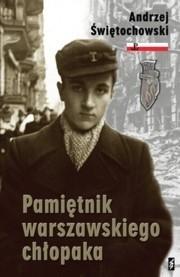 Okładka książki Pamiętnik warszawskiego chłopaka