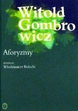 Okładka książki Aforyzmy : sentencje, myśli, zdania i uwagi