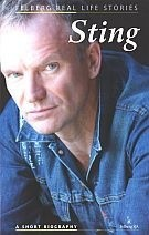 Okładka książki Sting. A short biography