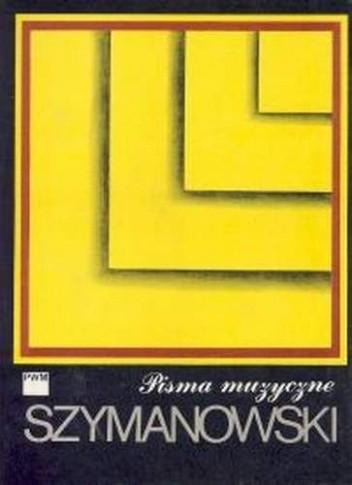 Okładka książki Pisma Muzyczne