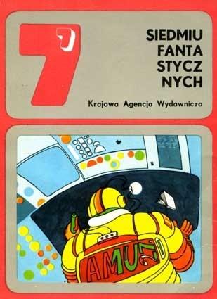 Okładka książki Siedmiu fantastycznych