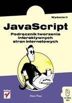 Okładka książki Javascript. Podręcznik tworzenia interaktywnych stron internetowych