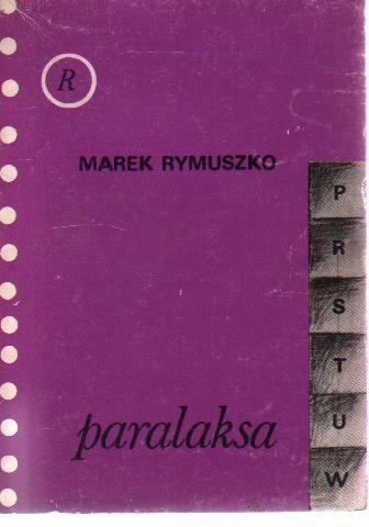 Okładka książki Paralaksa