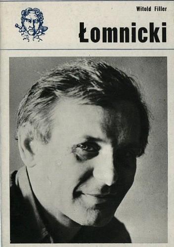 Okładka książki Tadeusz Łomnicki