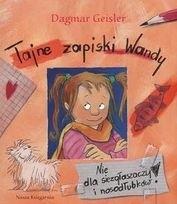 Okładka książki Tajne zapiski Wandy