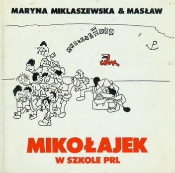 Okładka książki Mikołajek w szkole PRL