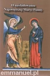 Okładka książki O naśladowaniu Najświętszej Maryi Panny