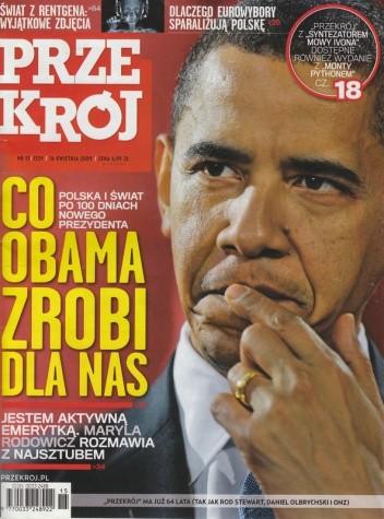 Okładka książki Przekrój, nr 15 (3329) / 16.04.2009