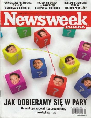 Okładka książki Newsweek, nr 34/2009