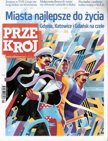 Okładka książki Przekrój, nr 45 (3411) / 09.11.2010