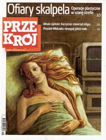 Okładka książki Przekrój, nr 49 (3415) / 07.12.2010