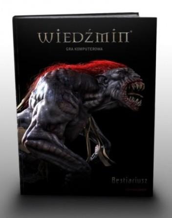 Okładka książki Wiedźmin. Gra komputerowa. Bestiariusz