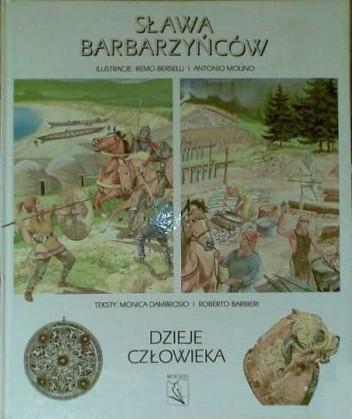 Okładka książki Sława barbarzyńców
