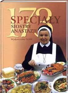 Okładka książki 173 specjały siostry Anastazji