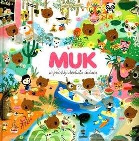 Okładka książki Muk w podróży dookoła świata