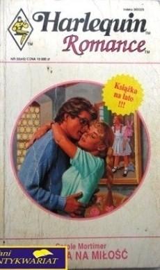 Okładka książki Szansa na miłość