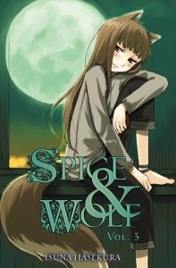 Okładka książki Spice and Wolf (novel) vol. 3