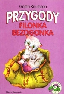 Okładka książki Przygody Filonka Bezogonka
