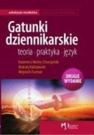 Okładka książki Gatunki dziennikarskie