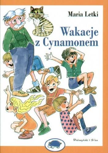 Okładka książki Wakacje z Cynamonem