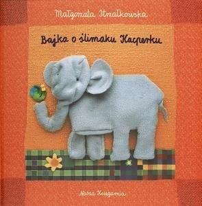 Okładka książki Bajka o ślimaku Kacperku