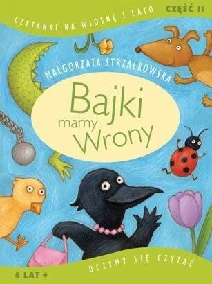 Okładka książki Bajki mamy Wrony