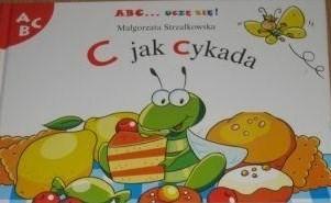 Okładka książki C jak cykada