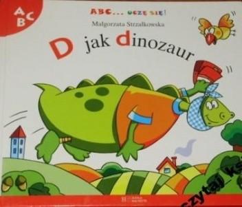 Okładka książki D jak dinozaur