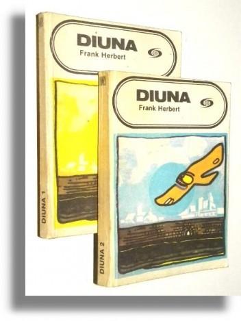 Okładka książki Diuna. [T. 1-2 ]