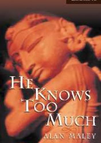 Okładka książki He Knows Too Much (level 6)