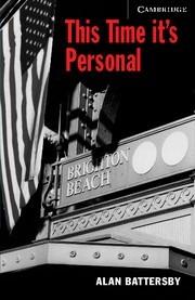 Okładka książki This Time It's Personal