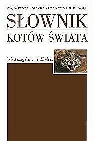 Okładka książki Słownik kotów świata