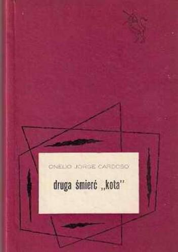 """Okładka książki Druga śmierć """"Kota"""""""
