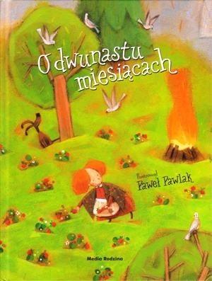 Okładka książki O dwunastu miesiącach