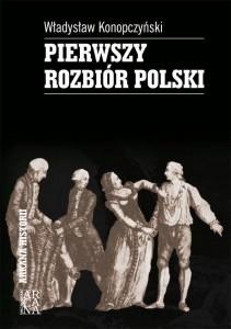 Okładka książki Pierwszy rozbiór Polski