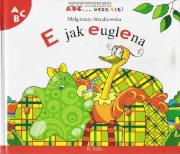Okładka książki E jak euglena