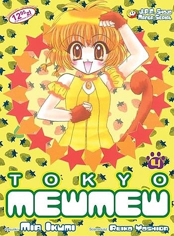 Okładka książki Tokyo Mew Mew 4