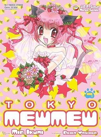 Okładka książki Tokyo Mew Mew 7