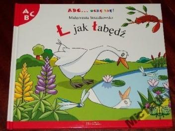 Okładka książki Ł jak łabędź