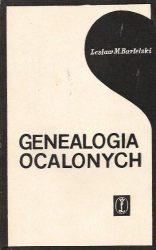 Okładka książki Genealogia ocalonych