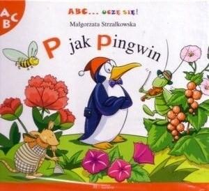 Okładka książki P jak pingwin