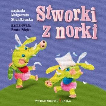 Okładka książki Stworki z norki