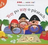 Okładka książki Trzy po trzy o piratach