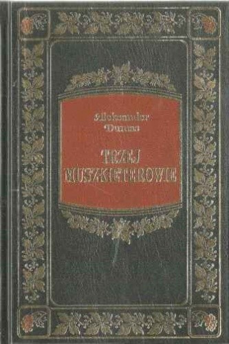 Okładka książki Trzej muszkieterowie