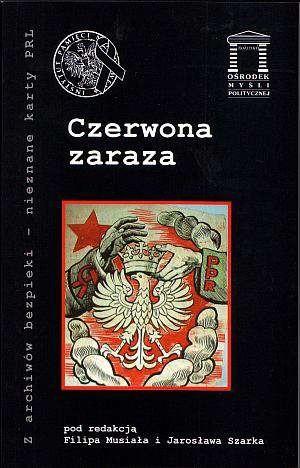 Okładka książki Czerwona zaraza